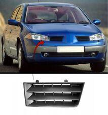 Renault Megane 2003-2006 Front Bumper Grille Driver Side New Insurance Approved