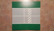 Lego Baseplate, Road 32 x 32 7-Stud Straight with Runway Crosswalk Pattern