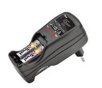 Trust PW-2140 Cargador de pilas con 2 pilas AA 2700mAH