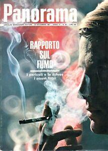 @ Panorama 84 novembre 1967 Rapporto sul fumo i pericoli e le difese