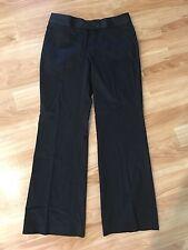 White House Black Market Ladies Black Pants Sz 8 Reg Legacy Flare Style