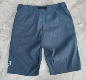 Fox Ranger MTB / DH Shorts Blue 32 Medium M Mens