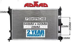 FORD FALCON BA/BF 2002-2008 6cyl XR6 TURBO, V8 XR8 FPV RADIATOR *GENUINE ADRAD*