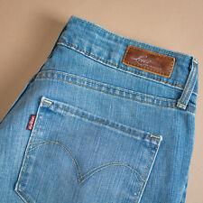 Vintage Levi Bold Curve Jeans Blue Straight Zip Women's (Patch W28L32) W 27 L 31