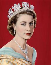 """Queen Elizabeth II Portrait 14 x 11"""" Photo Print"""