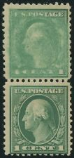 #498 Var. Top Stamp Ink Smear Error With Pf Stamp Bs1985
