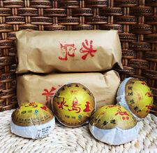 2012 year Wholesale Yunnan Pu'er tea raw puer tea 100g Iceland Wang sheng puerh