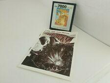 Meltdown for Atari 7800 Cartridge & Manual Pal Ver (NOT FOR USA)   J30