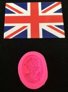 Silicone Camoe Broach Mould For Cake Decorating