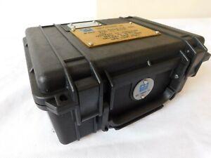 Genuine Black Peli 1150 Case With Foam Inserts Inside [P71B]