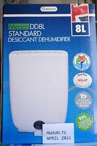 Meaco DD8L 8L Desiccant Dehumidifier with Humidistat  - 2 Years Warranty!