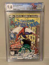 Marvel The Amazing Spider-Man #212 CGC 9.6 NM+ 1st App Hydro-Man NY City Label