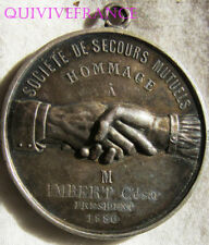 DEC4921 - MEDAILLE SCOCIETE DE SECOURS MUTUELS Pdt LA BOURRINE ( Vendée ) 1886