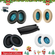 1 pair Ear Pads Cushion Replacement For Headphone Headset Qc15 Qc2 Bose Black Us