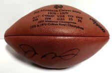 14/5000 Joe Montana Upper Deck UDA Signed Auto Autographed Football Ball 49ers
