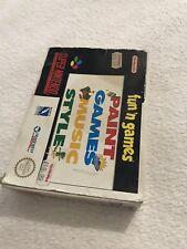 SNES - fun n games - Super Nintendo Boxed