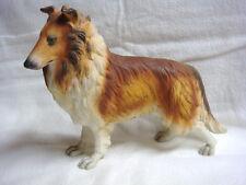 Stunning Andrea by Sadek Japan Collie Dog Porcelain Figure