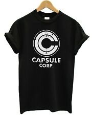 Capsule Corp Anime T-Shirts Son Goku - Unisex Pop Culture Comedy T-Shirt Tee Top