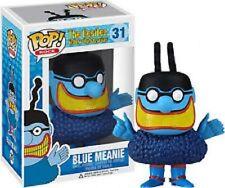 FUNKO POP ROCK THE BEATLES YELLOW SUBMARINE #31 BLUE MEANIE RARE RETIRED VINYL !