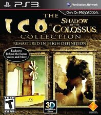 The ICO and Shadow of the Colossus Collection Playstation 3 PS3 TWO GAMES