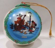 WDCC DISNEY CLASSICS PLUTO'S CHRISTMAS TREE 2000 COLLECTION ORNAMENT