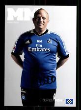 Mario Mosa Autogrammkarte Hamburger SV 2013-14 Original Signiert+A 159006