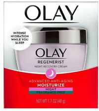 OLAY Regenerist Night Recovery Cream Advanced Anti-Aging 1.7 oz (Pack of 4)