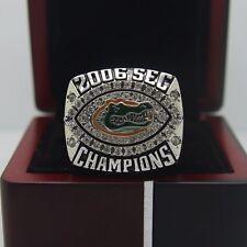 FLORIDA GATORS 2006 NCAA NATIONAL FOOTBALL CHAMPIONSHIP RING &  CASE  USA SELLER