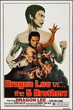 DRAGON LEE VS. THE FIVE BROTHERS, NEAR MINT