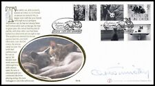 James Herriot Actor CHRISTOPHER TIMOTHY Signed 2001 GB Cats Buckingham FDC