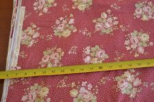 By 1/2 Yd, Cream & Rust Quilting, RJR/Bowood House/Robyn Pandolph/0069-1, M8746