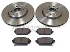 ROVER MG ZR 160 & MG ZS 180 2001-2005 FRONT 2 BRAKE DISCS 282MM & PADS SET NEW