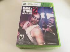 Kane & Lynch 2: Dog Days (Microsoft Xbox 360, 2010) XBOX 360 NEW