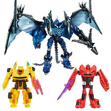 MISB Transformers Age of Extinction Deluxe STRAFE + Legion BUMBLEBEE & STINGER