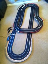 Scalextric Sport Layout with 2 Cars Chicanes / Long Flyover & Corner Xovers