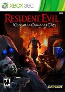 New Sealed Resident Evil Operation Raccoon City Limited Edition XBOX 360