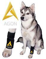 Dog Wrap Front Leg Brace Canine Limb Injury Elbow Paw Compression Wrist Support