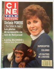►CINE REVUE 18/1987-STEPHANIE POWERS-HENRY WINKLER-DOLPH LUNDGREN-ROBERT WAGNER