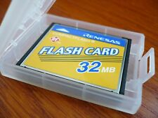 12 pieces of Cases SD CF MMC SM MS 6-WAY Memory Card Plastic Storage Jewel Case
