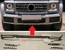 Mercedes Benz W463 G class G500 G350 FRONT LIP with LED DRL 2015+