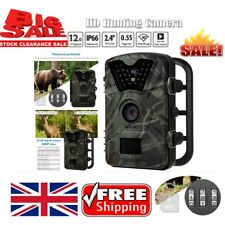 12.0MP 1080p Hunting Camera Trail Scouting Wildlife Night Vision IR Cut Infrared