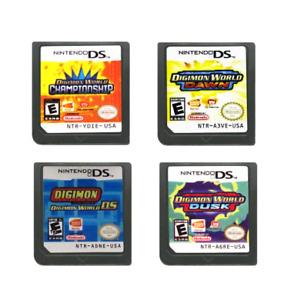 Digimon World: Championship Dawn DS Dusk Cartridge Video Game Nintendo New US