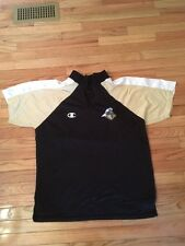 Purdue Boilermakers NCAA Vintage Champion Game Used Warm Up Top Mens Size L