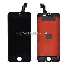 US LCD Screen + Touch Digitizer + Frame Replacement Assembly For iPhone 5C Black