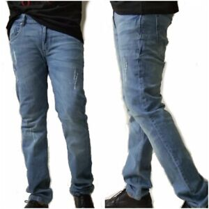 Mens Jeans High Quality Denim Straight Fit Jeans Regular sizes 30 31 33 34