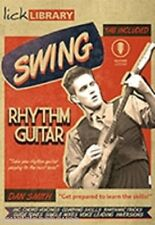 LICK LIBRARY Learn To Play SWING RHYTHM GUITAR JAZZ BLUES ROCK COUNTRY DVD SONGS