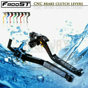 Motorcycle CNC Aluminum Long Adjustable Brake Clutch Lever for BMW F800ST 06-15