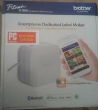 Brother P-Touch Cube Smartphone Label Maker Bluetooth Wireless Technology White