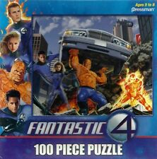 NEW ~ MARVEL ~ FANTASTIC FOUR  ~ 100 PIECE PUZZLE ~ THING & ...