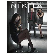 Nikita: The Complete Third Season (DVD, 2013, 5-Disc Set) sealed new TV series